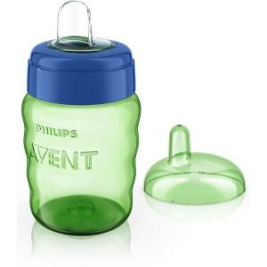 Buy Philips Avent Classic Spout Cup - Green / Blue - Nykaa