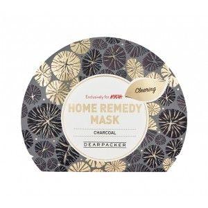 Buy DearPacker Home Remedy Mask - Charcoal - Nykaa