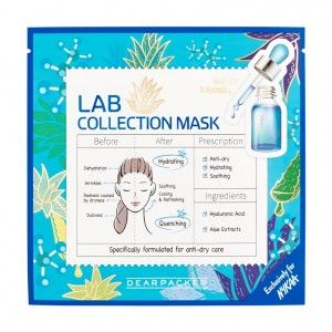 Buy DearPacker Lab Collection Mask - Anti-Dry & Hydrating - Nykaa