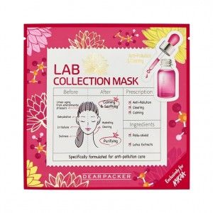 Buy DearPacker Lab Collection Mask - Anti-Pollution & Clearing - Nykaa