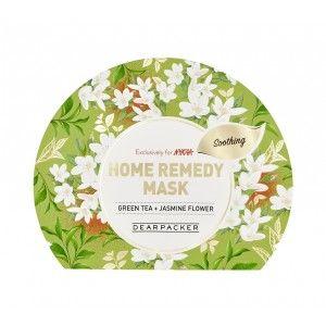 Buy DearPacker Home Remedy Mask - Green Tea + Jasmine Flower - Nykaa