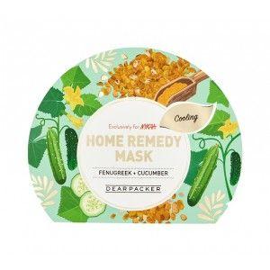 Buy DearPacker Home Remedy Mask - Fenugreek + Cucumber - Nykaa