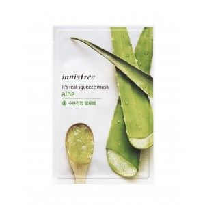 Buy Innisfree It's Real Squeeze Mask - Aloe - Nykaa