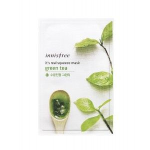 Buy Innisfree It's Real Squeeze Mask - Green Tea - Nykaa