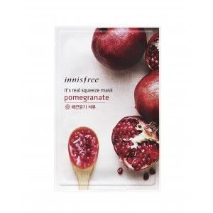 Buy Innisfree It's Real Squeeze Mask - Pomegranate - Nykaa