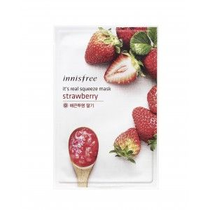 Buy Innisfree It's Real Squeeze Mask - Strawberry - Nykaa