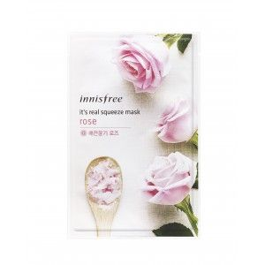 Buy Innisfree It's Real Squeeze Mask - Rose - Nykaa