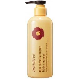 Buy Innisfree Jeju Camellia Butter Body Cleanser - Nykaa