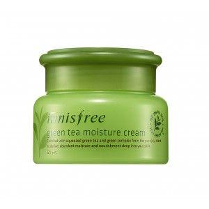 Buy Innisfree Green Tea Moisture Cream - Nykaa