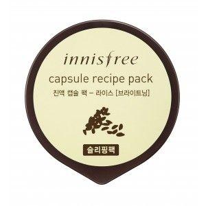 Buy Innisfree Capsule Recipe Pack - Rice - Nykaa