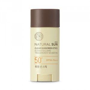 Buy The Face Shop Natural Sun Eco Clear Sunscreen Stick - Nykaa