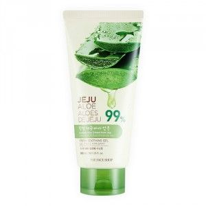 Buy The Face Shop Jeju Aloe Fresh Soothing Gel Tube - Nykaa