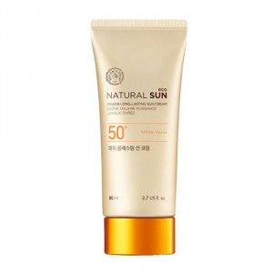 Buy The Face Shop Natural Sun Eco Power Long-Lasting Sun Cream - Nykaa
