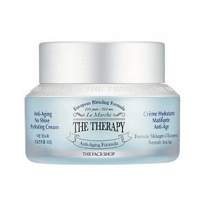 Buy The Face Shop The Therapy Anti-Aging No Shine Hydrating Cream - Nykaa