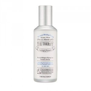 Buy The Face Shop The Therapy Hydrating Formula Emulsion - Nykaa