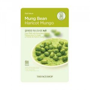 Buy The Face Shop Real Nature Mung Bean Face Mask - Nykaa