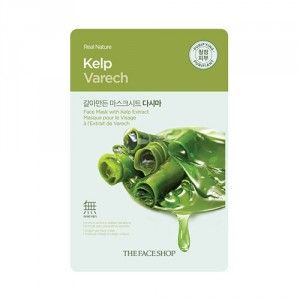 Buy The Face Shop Real Nature Kelp Face Mask - Nykaa