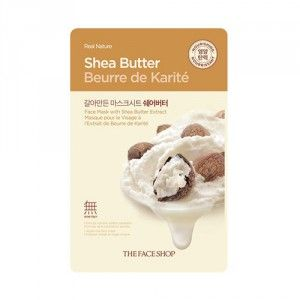 Buy The Face Shop Real Nature Shea Butter Face Mask - Nykaa