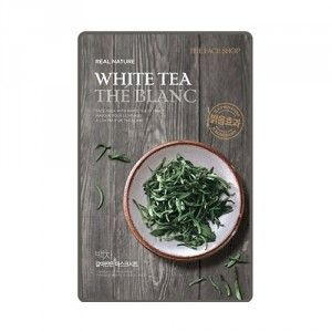Buy The Face Shop Real Nature White Tea Face Mask - Nykaa
