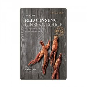 Buy The Face Shop Real Nature Red Ginseng Face Mask - Nykaa