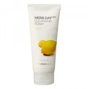 Buy The Face Shop Herb Day 365 Cleansing Foam Lemon - Nykaa