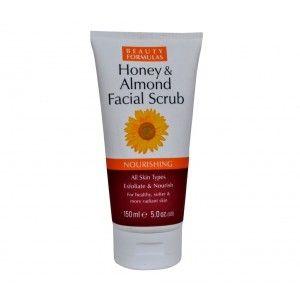 Buy Beauty Formulas Honey & Almond Facial Scrub - Nykaa