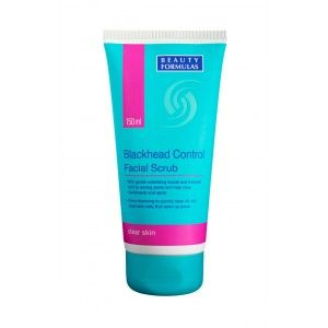 Buy Beauty Formulas Blackhead Control Facial Scrub - Nykaa