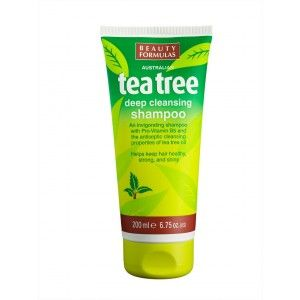 Buy Beauty Formulas Australian Tea Tree Deep Cleansing Shampoo - Nykaa