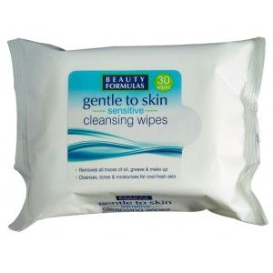 Buy Beauty Formulas Gentle to Skin Sensitive Cleansing Wipes - Nykaa