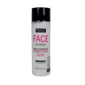 Buy Beauty Formulas Face Visage Gentle Cleansing Milk - Nykaa