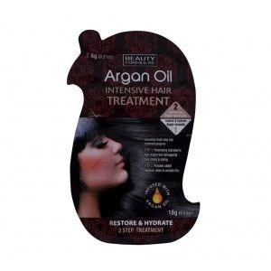 Buy Beauty Formulas Argan Oil Intensive Hair Treatment - Nykaa