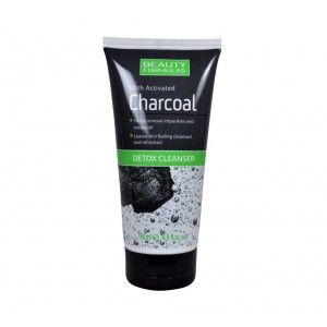 Buy Beauty Formulas With Activated Charcoal Detox Cleanser - Nykaa
