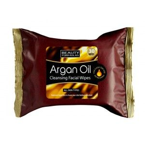 Buy Beauty Formulas Argan Oil Cleansing Facial Wipes - Nykaa