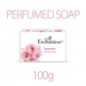 Buy Enchanteur Romantic Perfumed Soap (Rs.4 Off) - Nykaa