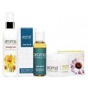 Buy Aroma Treasures Dark Circle Combo (Set of 3) - Nykaa
