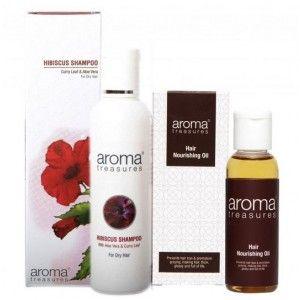 Buy Aroma Treasures Fight Hair Loss / Fall Mini Combo (Set of 2) - Nykaa