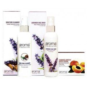 Buy Aroma Treasures Make Up Remover Combo (Set of 3) - Nykaa