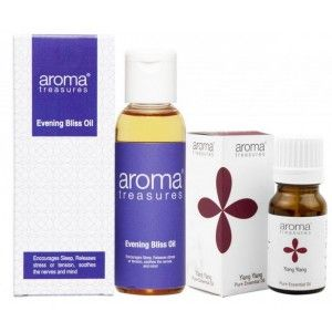 Buy Aroma Treasures De-Stress & Relaxation Mini Combo (Set of 2) - Nykaa