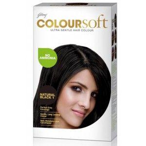 Buy Godrej Coloursoft Hair Colour - Natural Black - Nykaa
