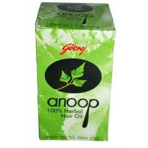 Buy Godrej Anoop Herbal Hair Oil - Nykaa
