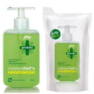 Buy Godrej Protekt Masterchef's Handwash + Refill Pouch - Nykaa