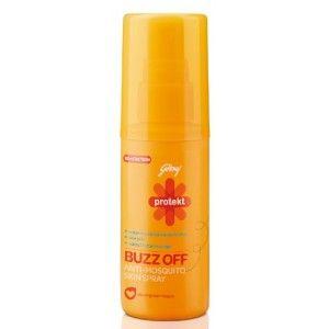 Buy Godrej Protekt Buzz Off Anti-Mosquito Skin Spray - Nykaa