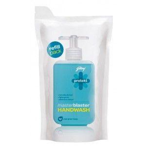 Buy Godrej Protekt Refill Pouch Masterblaster Handwash - Nykaa