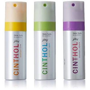 Buy Cinthol Women's Spin, Spark & Deo Spray (Buy 2 Get 1 Free) - Nykaa