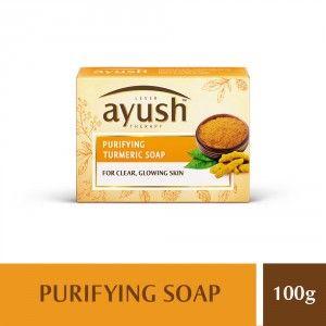 Buy Lever Ayush Purifying Turmeric Soap - Nykaa