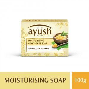 Buy Lever Ayush Moisturising Cow's Ghee Soap - Nykaa