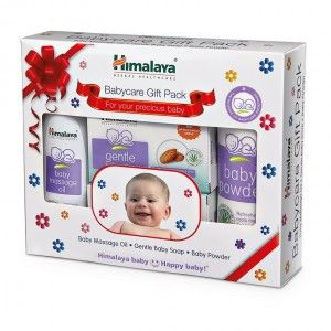 Buy Himalaya Baby Care Gift Pack (Oil-Soap-Powder) - Nykaa