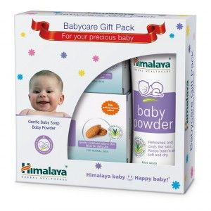 Buy Himalaya Baby Care Gift Series (Soap-Powder) - Nykaa