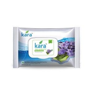 Buy Kara Make-Up Removal Wipes With Seaweed And Lavender (30 Wipes) - Nykaa