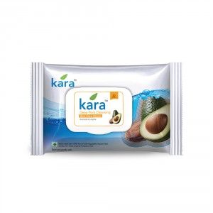Buy Kara Deep Pore Cleansing Wipes With Jojoba And Avocado (30 Wipes) - Nykaa